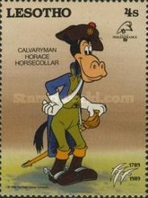 """[International Stamp Exhibition """"PHILEXFRANCE '89"""" - Paris, France - The 200th Anniversary of the French Revolution - Walt Disney Figures in Uniforms, type ABP]"""