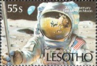 [The 20th Anniversary of First Manned Moon Landing, type ACO]