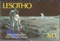 [The 20th Anniversary of First Manned Moon Landing, type ACP]