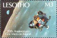 [The 20th Anniversary of First Manned Moon Landing, type ACR]