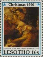 [Christmas - The 350th Anniversary of the Death of Peter Paul Rubens, 1577-1640, Typ AFH]