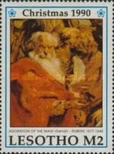 [Christmas - The 350th Anniversary of the Death of Peter Paul Rubens, 1577-1640, type AFL]