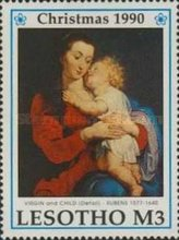 [Christmas - The 350th Anniversary of the Death of Peter Paul Rubens, 1577-1640, type AFM]