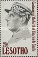 [The 100th Anniversary of the Birth of Charles de Gaulle, 1890-1970, type AHE]