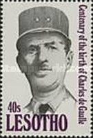 [The 100th Anniversary of the Birth of Charles de Gaulle, 1890-1970, type AHF]
