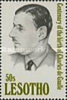 [The 100th Anniversary of the Birth of Charles de Gaulle, 1890-1970, type AHG]