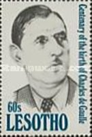 [The 100th Anniversary of the Birth of Charles de Gaulle, 1890-1970, type AHH]