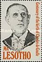 [The 100th Anniversary of the Birth of Charles de Gaulle, 1890-1970, type AHI]