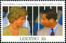 [The 10th Anniversary of the Royal Wedding of Prince Charles and Princess Diana, type AHJ]