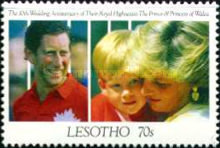 [The 10th Anniversary of the Royal Wedding of Prince Charles and Princess Diana, type AHK]