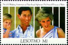 [The 10th Anniversary of the Royal Wedding of Prince Charles and Princess Diana, type AHL]
