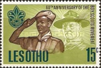 [The 60th Anniversary of Scout Movement, Typ AI]