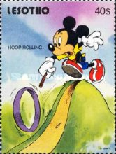 [Walt Disney Characters and Children's Games, type AIA]