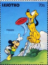 [Walt Disney Characters and Children's Games, type AIC]