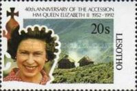 [The 40th Anniversary of the Accession of Queen Elizabeth II, type AJC]