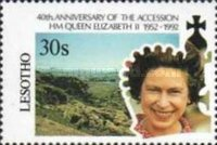 [The 40th Anniversary of the Accession of Queen Elizabeth II, type AJD]
