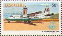 [The 50th Anniversary of International Civil Aviation Organization, Typ AOJ]