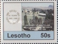 [The 50th Anniversary of University Studies in Lesotho, Typ AOT]
