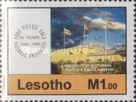 [The 50th Anniversary of University Studies in Lesotho, Typ AOV]