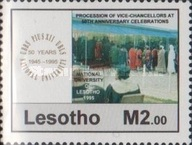 [The 50th Anniversary of University Studies in Lesotho, Typ AOX]