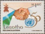 [The 50th Anniversary of United Nations, type APF]
