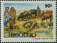 [The 50th Anniversary of UNICEF, type AQP]