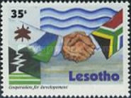 [The 10th Anniversary of Lesotho Highland Water Project 1996, Typ ARZ]
