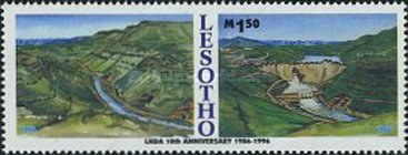 [The 10th Anniversary of Lesotho Highland Water Project 1996, Typ ASC]