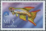 [International Year of the Ocean - Fish from Sea and Freshwater, Typ AYU]