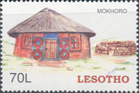[Traditional Basotho Houses, type BTT]
