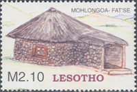[Traditional Basotho Houses, type BTW]