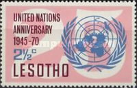 [The 25th Anniversary of United Nations, type BU]