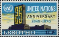 [The 25th Anniversary of United Nations, type BV]