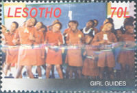 [The 80th Anniversary of Girl Scouts in Lesotho, type BVG]