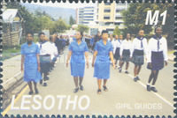 [The 80th Anniversary of Girl Scouts in Lesotho, type BVH]