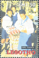 [The 80th Anniversary of Girl Scouts in Lesotho, type BVI]