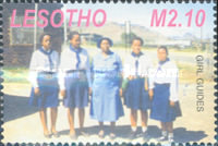 [The 80th Anniversary of Girl Scouts in Lesotho, type BVJ]