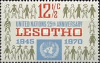 [The 25th Anniversary of United Nations, type BW]