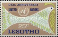 [The 25th Anniversary of United Nations, type BX]