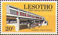 [The 100th Year of Postal Service in Lesotho, Typ DJ]