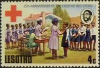 [The 25th Anniversary of Lesotho Red Cross, type GB]