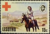 [The 25th Anniversary of Lesotho Red Cross, Typ GD]
