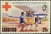 [The 25th Anniversary of Lesotho Red Cross, Typ GE]