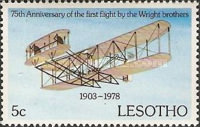 [The 75th Anniversary of First Powered Flight by the Wright Brothers, type IO]