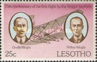 [The 75th Anniversary of First Powered Flight by the Wright Brothers, type IP]