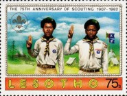 [The 75th Anniversary of Boy Scout Movement, Typ ML]