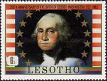 [The 250th Anniversary of the Birth of George Washington, 1732-1799, Typ NA]