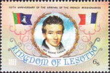 [The 150th Anniversary of Arrival of the French Missionaries, type OR]