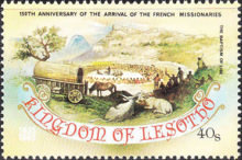 [The 150th Anniversary of Arrival of the French Missionaries, type OT]