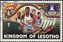 [Olympic Games - Los Angeles, USA, type QJ]